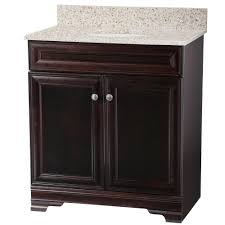 Home Decorators Collection Grafton  In W Bath Vanity In Crimson - Home depot bathroom vanity granite