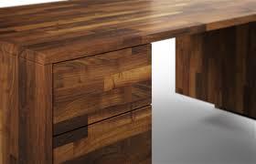Echtholz Schreibtisch Melbourne Aus Nussbaum U2013 Schreibtisch Nach Maß