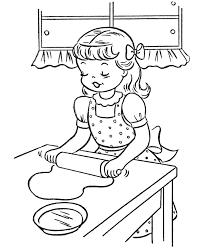 thanksgiving dinner coloring page sheets cookies
