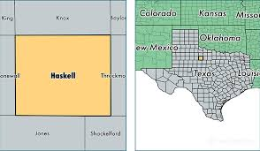 haskell map haskell county map of haskell county tx where is