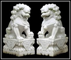 marble foo dogs artwork may be strong suit at jenack auction july 8