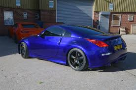 matte blue nissan 350z nissan 350z customization at rt performance jpg