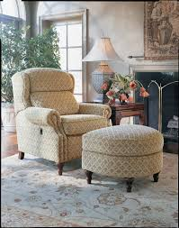 reclining back chair with ottoman smith brothers of berne inc catalog