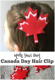 clip hair canada make your own canada day hair for kids