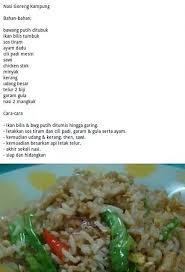 membuat nasi goreng cur telur 16 best resepi rasa malaysia images on pinterest malaysian food