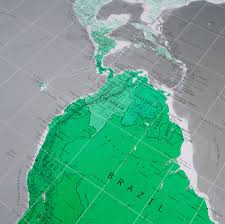 Large World Map Large World Wall Map By The Future Mapping Company
