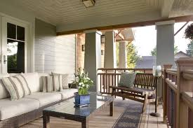 Patio Rails Ideas Craftsman Porch Railing Designs Houzz