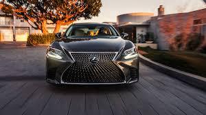 lexus ls stance 2018 lexus ls luxury sedan debuts at the naias