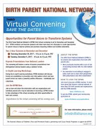 Save The Date Emails Save The Date Birth Parent National Network Virtual Convening