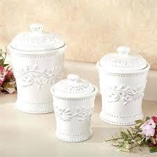 kitchen canister set ceramic white kitchen canister set large size of sets teal jar