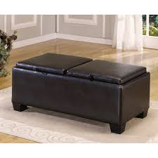 Leather Storage Ottoman Coffee Table Coffee Table White Leather Coffee Table Black Leather