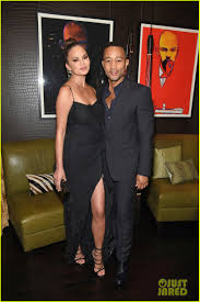 john legend u0026 chrissy teigen show off their style at