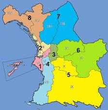marseilles map arrondissements of marseille