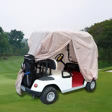 golf cart rain cover enclosure for club car 4 person yamaha
