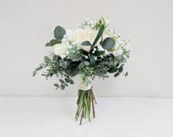 silk flowers for weddings silk flower bouquet etsy