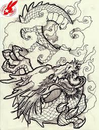 japanese dragon tattoo design by jackie rabbit japanese dragon