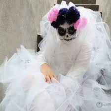 Bride Halloween Costume Kids Diy Halloween Costume Sugar Skull Bride Ohoh Blog