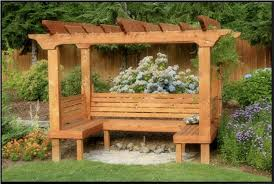 Backyard Arbor Ideas Luxury Style Of Arbor With Bench U2013 Outdoor Decorations