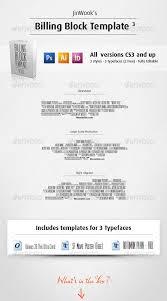 movie poster credits template graphics designs u0026 templates