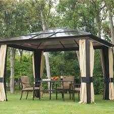 gazebo ideas hardtop gazebo replacement panels with canadian tire