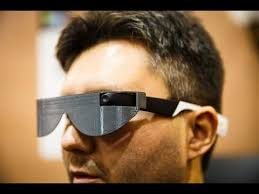 Blind People Glasses Aira Smart Glasses Help Blind People See The World Youtube