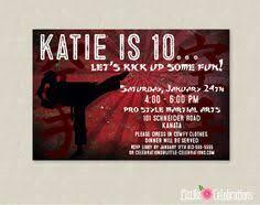 tae kwon do invitation karate invitation tae kwon do birthday