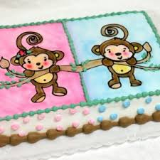 monkey baby shower cake photo gallery of baby shower cakes patty s cakes and desserts