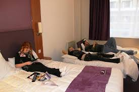 Me Sleeping Picture Of Premier Inn London County Hall Hotel - London hotels family room