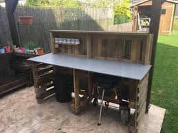 Pallet Furniture Bar Diy Home Bar Your Bar Made Out Of Recycled Pallets 1001 Pallets