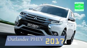 mitsubishi suv blue 2017 mitsubishi outlander phev first plug in hybrid suv youtube