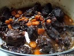 cuisiner de la joue de boeuf joue de boeuf aux carottes et vin recette joue de boeuf