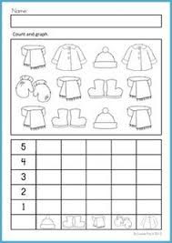 free mitten math numbers to 6 worksheet students count the mitten