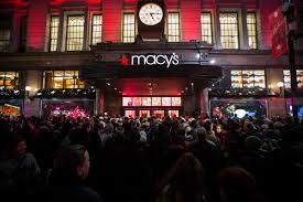 macy s thanksgiving sale macy u0027s flagship new york store breaks thanksgiving shopping record