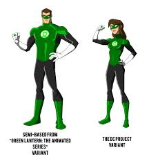 the dc project green lantern redesign by huatist on deviantart