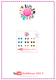 House Lens by Real Miniature Colored Contact Lenses Tutorial Dollhouse Diy