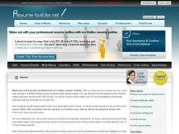 resume builder review screenshot of pongo resume interface