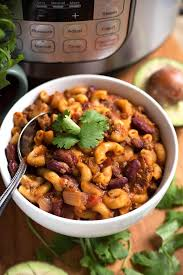 chili cuisine instant pot chili mac simply foodie