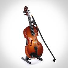 14cm free shipping mini violin small instrument ornament