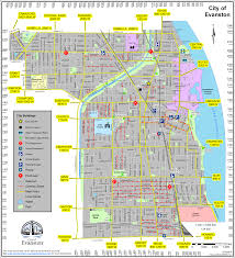 Chicago Map Pdf Maps City Of Evanston