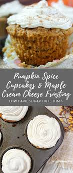 maple frosting pumpkin spice cupcakes with maple cream cheese frosting my