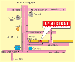 map usj 21 malaysia map directory and malaysia map information collection