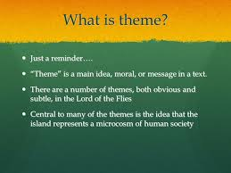 lord of the flies themes and messages themes in the lord of the flies william golding on theme the
