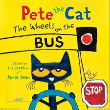 pete the cat the wheels on the pete the cat books