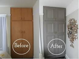 Change Cupboard Doors Kitchen by Best 25 Painted Closet Ideas On Pinterest Tool Storage Garage