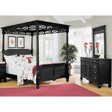 Canopy Bedroom Sets With Curtains Remarkable Black Canopy Bed Curtains Pictures Ideas Amys Office