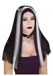 wigs for kids halloween halloween costumes with long black wigs discount wig supply