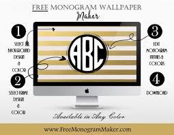 create monogram initials free monogram maker customize online instant