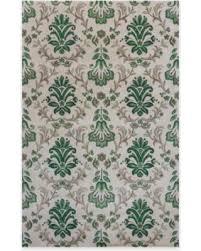 Pineapple Area Rug Tis The Season For Savings On Kas Emerald Damask 8 X 11 Area Rug