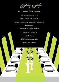 dinner invitation birthday dinner invitation blueklip