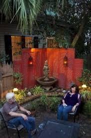 Backyard Corner Ideas Outdoor Corner Fountains Foter